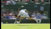 Смешен Ицидент На Тенис Мач