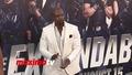 Тери Крюс на премиерата на филма си Непобедимите 3 (2014)