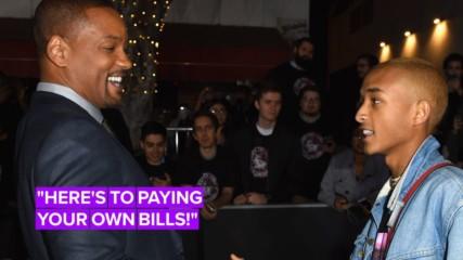 Will Smith jokes Jaden is being cut off financially on 21st birthday