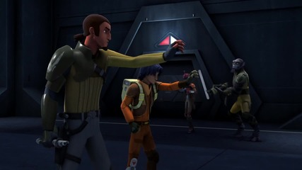 Междузвездни войни - Бунтовниците / Star Wars Rebels/ - епизод 4 (бг аудио) , добро качество