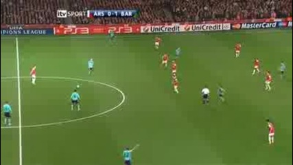 Арсенал направи невъзможното и обърна барса :)