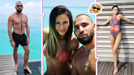 Атанас Месечков и красивата му съпруга на екзотично приключение