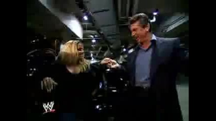 Divas relationship with Mr Mcmahon - features Trish Stratus