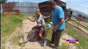 Елена Кучкова срещу щраусите във финалния епизод на Мис Пепеляшка (28.05.2015) - част 1