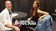Selena Gomez Talks Revival Touring Kill Em With Kindess Rapid Fire Questions With 107.9 The end