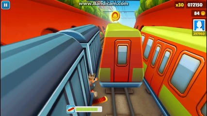 Subway surfer bug
