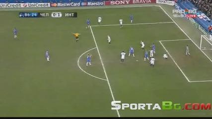 Челси 0 - 1 Интер 1/8 - Финал реванш Шампионска Лига (общ резултат 1:3) 16.03.2010.