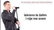 Mladen Rosic - Ne gledaj me kao prolaznika (hq) (bg sub)