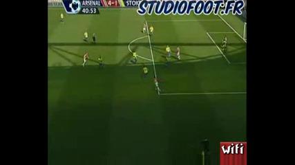 Арсенал - Стоук Сити 4:1