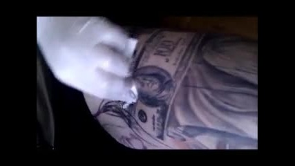 Tattooing on myself