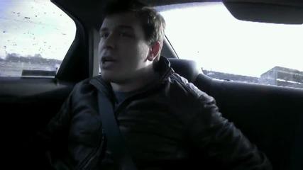 Луда скрита камера! Случайно да се качиш в такси, карано от професионален шофьор от Nascar! [pepsi]