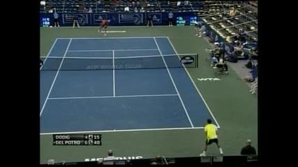 Родик и Дел Потро се класираха за четвъртфиналите в Мемфис