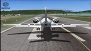 Fsx кацане на летище juliana