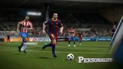 Fifa 11 vs Pes 2011 Comparison [hd]