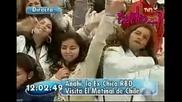 Anahi en Buenos dias ... пее