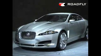 Roadfly.com - Jaguar Xf C - Xf Concept Car from Detroit Naias