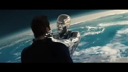 Фантастичната четворка и Сребърният Сърфист (2007) Трейлър
