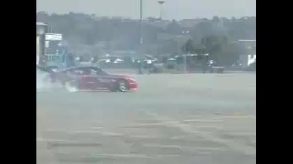 Turbo Nissan Silvia Drifting Action