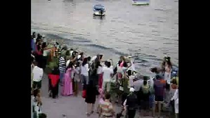 Посрещането На Нептун, Арапя, Карнавала