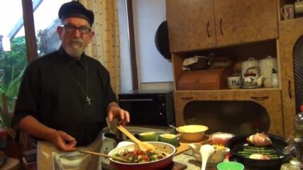 """Пълнени тиквички с миди - """"Така готви ПАПА"""""""