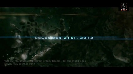 Thoughtography Remix (video) 2012 • Britney Spears - Till The World Ends
