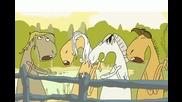 Анимация - Пеещи Коне