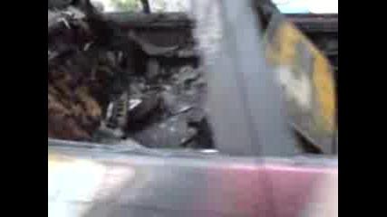 Изгоряла Кола В Кричим