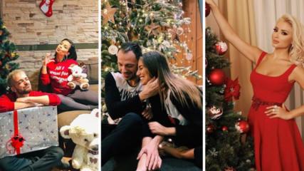 Коледа на BG звездите - кой, къде, как и с кого прекара празника?