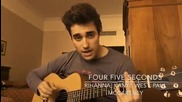 Jorge Blanco - Four Five Seconds | Cover | + Превод