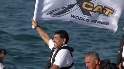Състезание с моторни лодки - XCAT World series Powerboat racing част 2