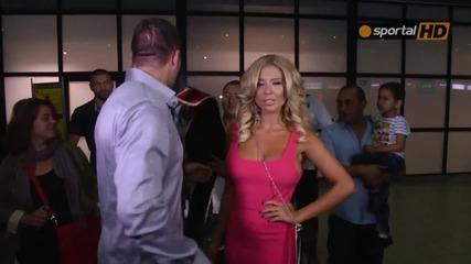Шампионско посрещане за Кобрата в София