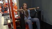 Избутване на машина за гърди - Симона Георгиева