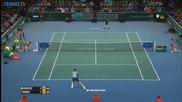 Bnp Paribas Paris Masters 2014 Final - Hot Shot By Novak Djokovic