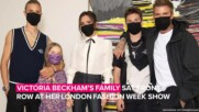 Victoria Beckham's family attends her fashion show despite Covid restrictions