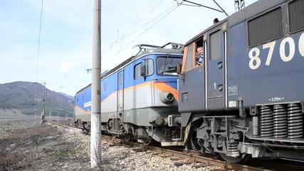 Влак 30580 заминава от гара Христо Даново