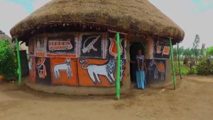 Изрисуваните къщи на племето Алаба (
