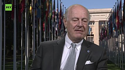 De Mistura Calls on Putin and Obama to Protect Ceasefire in Syria