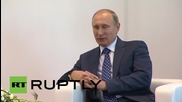 Russia: Putin talks bilateral relations with Abu Dhabi Crown Prince at MAKS