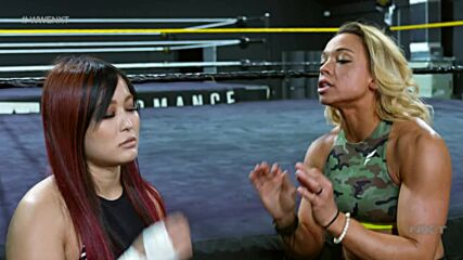 Zoey Stark tries to get on same page with Io Shirai: WWE NXT, July 27, 2021