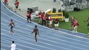 Сензация ! Usain Bolt се провали на Световното първенство