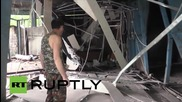 Двама ранени след бомбардировки в Донецк