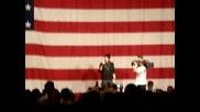 Adam Lambert sings National Anthem of America