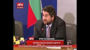 Безумията на служебното правителство продължават! Министър Иванов се гаври с вицепремиера