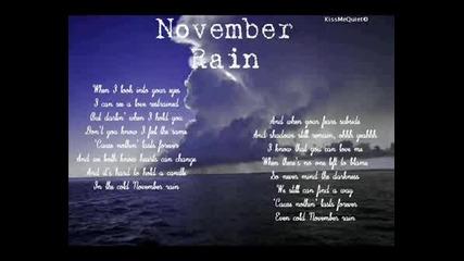 Rising - November Rain (piano)