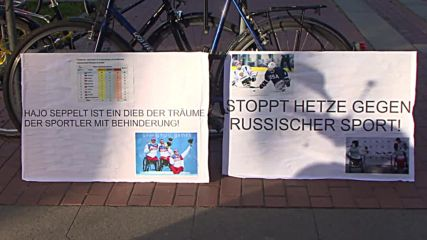 Germany: Protesters against Russian Paralympic ban forced out of Berlin library