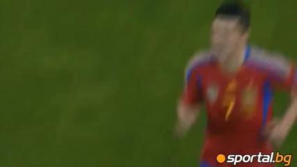 Испания - Чехия 2:1