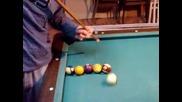 Billard trick shot ( movie )