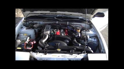 Nissan 200sx S13 turbo & blow-off