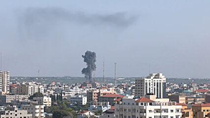State of Palestine: Israel continues airstrikes in Gaza Strip