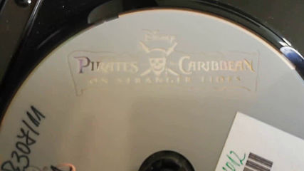 Българското Dvd издание на Карибски пирати: В непознати води (2011) А+ Филмс